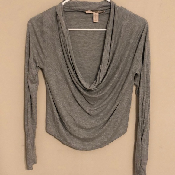 Forever 21 Tops - Grey cowl neck